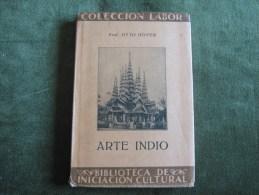 Coleccion Labor-Arte Indio-Prof.Otto Hover-Nº 125 - Cultura