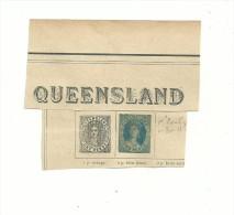 TIMBRE Ancien Du QUEENSLAND  à Identifier N° 2 ?? Ou 5 Ou8 Ou13 ??? (forte Cote Dans Tous Les Cas)..à....voir . - 1860-1909 Queensland