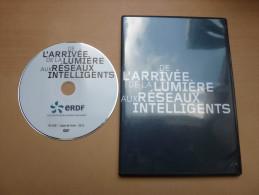 """DVD ERDF * """"De L'arrivée De La Lumière Aux Réseaux Intelligents"""" (EDF) - DVD"""