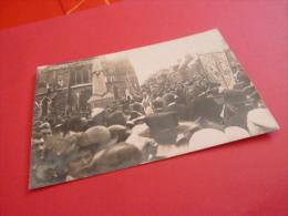 50  CONDE SUR VIRE Carte Photo Inauguration Du Monuments Aux Morts Guerre Ww1 1914 1918 .non Circulee RARE MANCHE - Sonstige Gemeinden