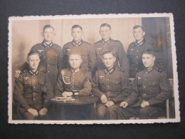 Soldatenfoto , Postkarte - Weltkrieg 1939-45