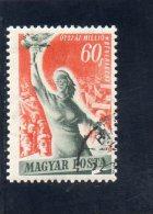 HONGRIE 1950 O - Ungarn