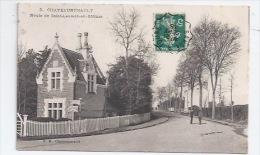 37 CHATEAURENAULT -  ROUTE DE SAINT-LAURENT-EN-GATINES - SUPERBE VILLA - VOIR CHEMINÉES - 1915 - France