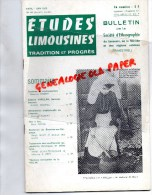 87-19-23- ETUDES LIMOUSINES- 1972- BESSINES- MAURICE ROBERT- ANDREE MANSAU-MARC PRIVAL- - Limousin
