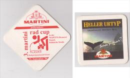 Martini Brauerei Kropf Kassel , 1996 Rad Cup - Heller Urtyp - Beer Mats