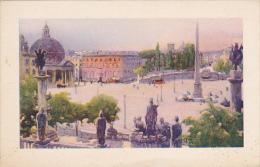 Italy Roma Piazza dei Popolo