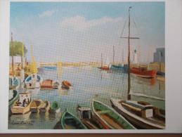 17 - ILE De RÉ - Le Port De LA FLOTTE - Peinture De Claude Suire. - Ile De Ré