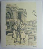 EX LIBRIS - JUILLARD - BLAKE ET MORTIMER - COVENT GARDEN - Illustrators J - L