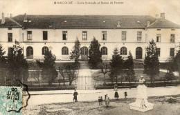 MIRECOURT école Normale Et Statue De Pasteur - Mirecourt