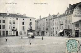 MIRECOURT Place Gambetta - Mirecourt