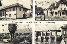 Pays Divers -suisse -ref C58- Souvenir De Chancy - Multivues   - Carte Bon Etat  - - Suisse