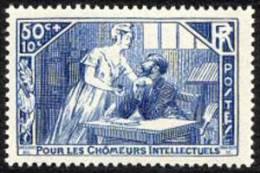 France N°  307 ** Pour Les Chômeurs Intellectuels - Frankreich