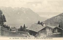Pays Divers -suisse -ref C46- Les Ecovets -la Vallee Du Rhone ,lac Leman Et Alpes De Savoie  - Carte Bon Etat  - - Suisse
