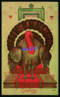 Thanksgiving Greetings -  Dinde - Turkey - Thanksgiving