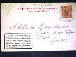 TOSCANA -SIENA -CHIUSI -F.P. LOTTO N�392