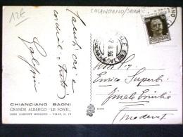 TOSCANA -SIENA -CHIANCIANO -F.P. LOTTO N�392