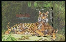 MALAYSIA  2013 - Tigres, Faune En Danger - BF Neufs // Mnh - Malasia (1964-...)