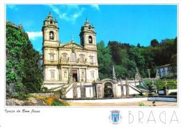 PORTUGAL PICTURE POST CARD - IGREJA DO BOM JESUS, BRAGA - Braga