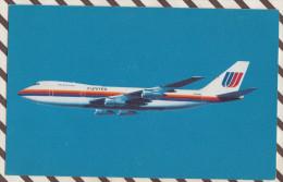 4AG1194 AVION BOING 747-100  2  SCANS - 1946-....: Modern Era