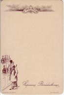 MENU - Liqueur Bénédictine. 70e Série N°1 - Vierge - - Menus