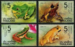 THAÏLANDE 2014 - Faune, Amphibiens, Grenouilles - 4val Neufs // Mnh - Thailand