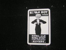 Playing Cards / Carte A Jouer / 1 Dos De Cartes De La Brasserie - Brouwerij - Van Roy Wieze - Royal Ale - Royal Stout - Cartes à Jouer
