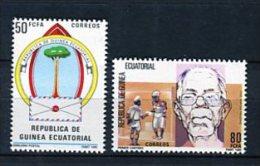 Guinea Ecuatorial 1986. Edifil 69-70 ** MNH. - Guinea Ecuatorial