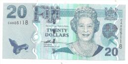 Fiji 20 Dollars 2011 UNC  .S. - Figi