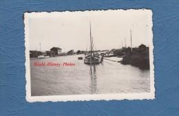 Photo Ancienne - MARENNES - le port de p�che - voir bateau