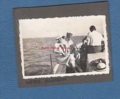 Photo Ancienne - Vers l' Ile d'Oleron ( Charente Maritime ) - A bord du bateau