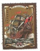 Latvia Lettland -  Old Ship -  Galleon  -1997   USED ( 0 ) - Latvia