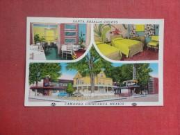 Mexico --  Camargo Chihuahua    Santa Rosalia Courts   Stamp & Cancel  ref 1512