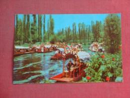 Mexico -Lago De Xochimilco    Stamp & Cancel  ref 1512