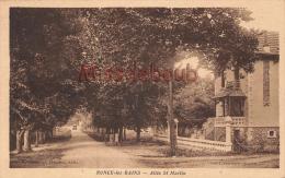 17 - RONCE Les BAINS - Allée St Martia  - 2 Scans - Francia
