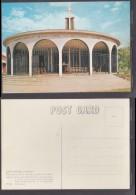 "Rhodesia: Lake Kariba,""St Barbara Church ( Memorial To Those Who Died On Dam Construct) R.A.BOURLAY (photo + Pub) Unused - Zimbabwe"
