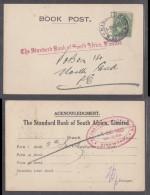 STANDARD  BANK OF SOUTH AFRICA LTD ,KIRKWOOD To  STANDARD BANK PORT ELIZABETH, 1925 - South Africa (...-1961)
