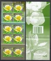 Singapore 2012 Pond Life, Yellow Burhead Flower 1st Reprint(2010B) Booklet MNH - Singapur (1959-...)