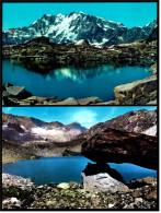 2 X Macugnaga Fraz. Staffa  -  Lago Smeraldo  -  M. Rosa  -  Ansichtskarten Ca.1980   (3658) - Verbania