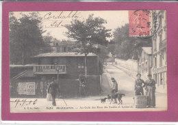 75.- PARIS .- MONTMARTRE .- Aucoin Des Rues Des Saules Et Lamarck - Autres