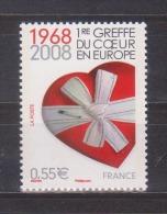 FRANCE / 2008 / Y&T N° 4179 ** : 1ère Greffe Du Coeur En Europe - Gomme D'origine Intacte - Ungebraucht