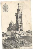 --XXVIII--MARSEILLE--N-D DE LA GARDE-1864--JOLIE CARTE DE 1925-- - Notre-Dame De La Garde, Lift