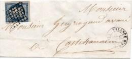 N°4 Sur Lettre De Valence D Agen Pour Castelsarrazin En Oct. 1850 - 1849-1850 Cérès