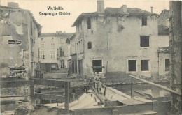VIC SUR SEILLE CARTE ALLEMANDE - Vic Sur Seille