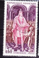Frankreich France  - Karl Der Große/Charlemagne - 1966 - Gest. Used Obl. (scan Ist Beispiel) - Europäischer Gedanke