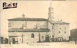 87-Limoges-Eglise Sainte Marie - Limoges