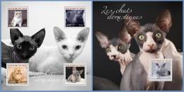 nig14304ab Niger 2014 Cats 2 s/s