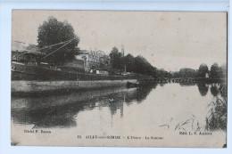 80b95CpaAILLY Sur SOMME L' Usine , La Somme , Edit L.C. Amiens , Cliché F. Baron - France