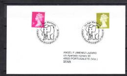 GRAN BRETAÑA.2006  ANIMALES DE LA ERA GLACIAL. MAMUT   . CN 2608 - Prehistóricos