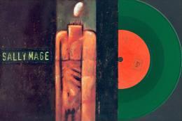 SALLY MAGE - Lauretta - 45t - 442ème RUE - Vinyl Vert - Punk