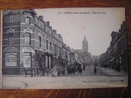 CPA  Animée - LENS (P.de-C.) Avant La Guerre - Rue De Lille - Lens